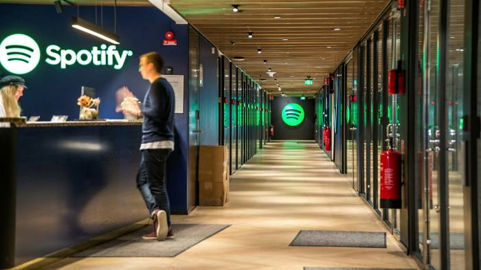 Spotify and others have prepared the way for newer start-ups