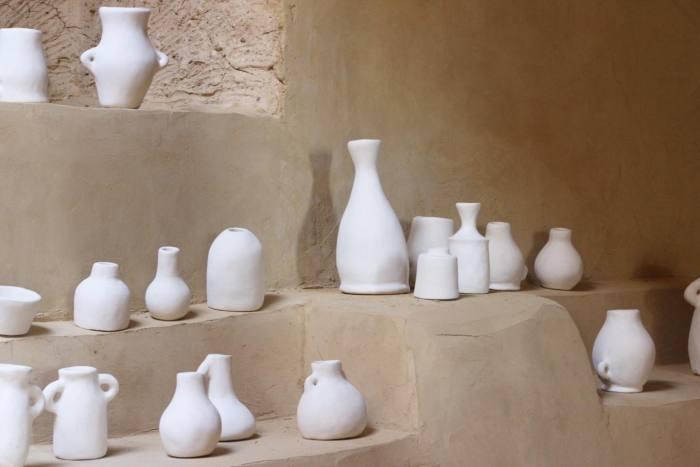 Udjat hand-crafted, salt-glazed ceramics, from €50