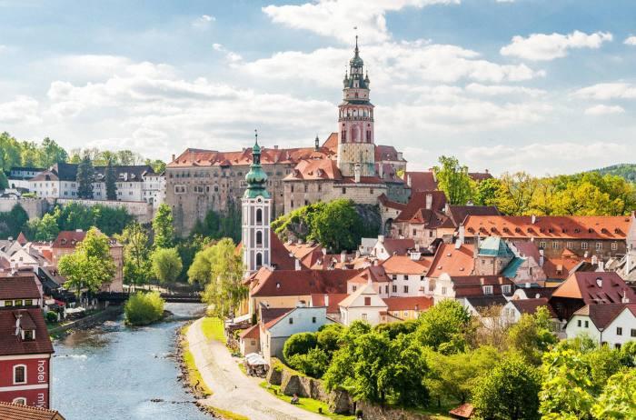 The view from Ceský Krumlov