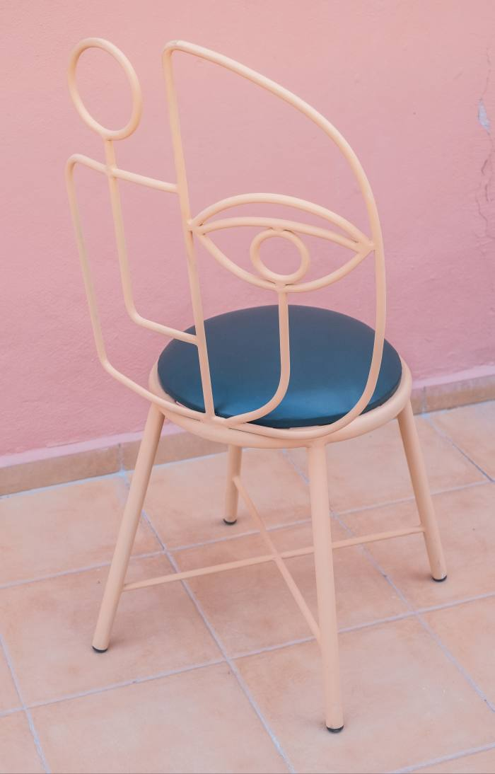 The Tea Party chair from Leenaert's latest collection