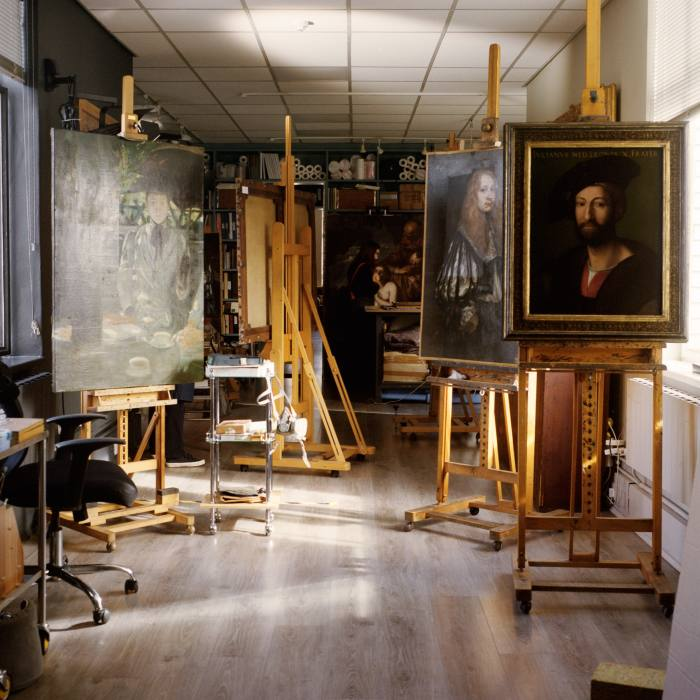 After a painting is attributed, Gillespie seeks verification from academic specialists on the artist in question