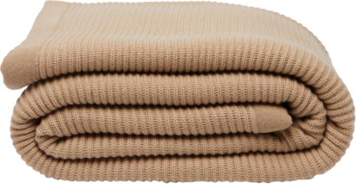 Brunello Cucinelli rib-knitted cashmere blanket, £2,620, matchesfashion.com