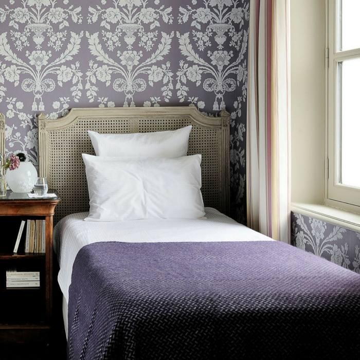 The lilac-coloured Tilia Suite
