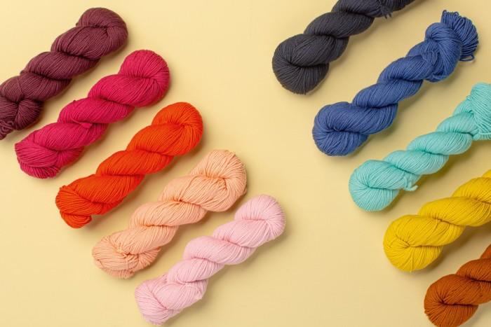 Brooklyn Tweed Ranch 03 merino wool, $16.50 a skein