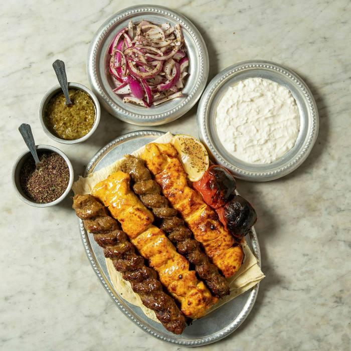 The DIY kebab kit by Soho-based Persian restaurant Berenjak