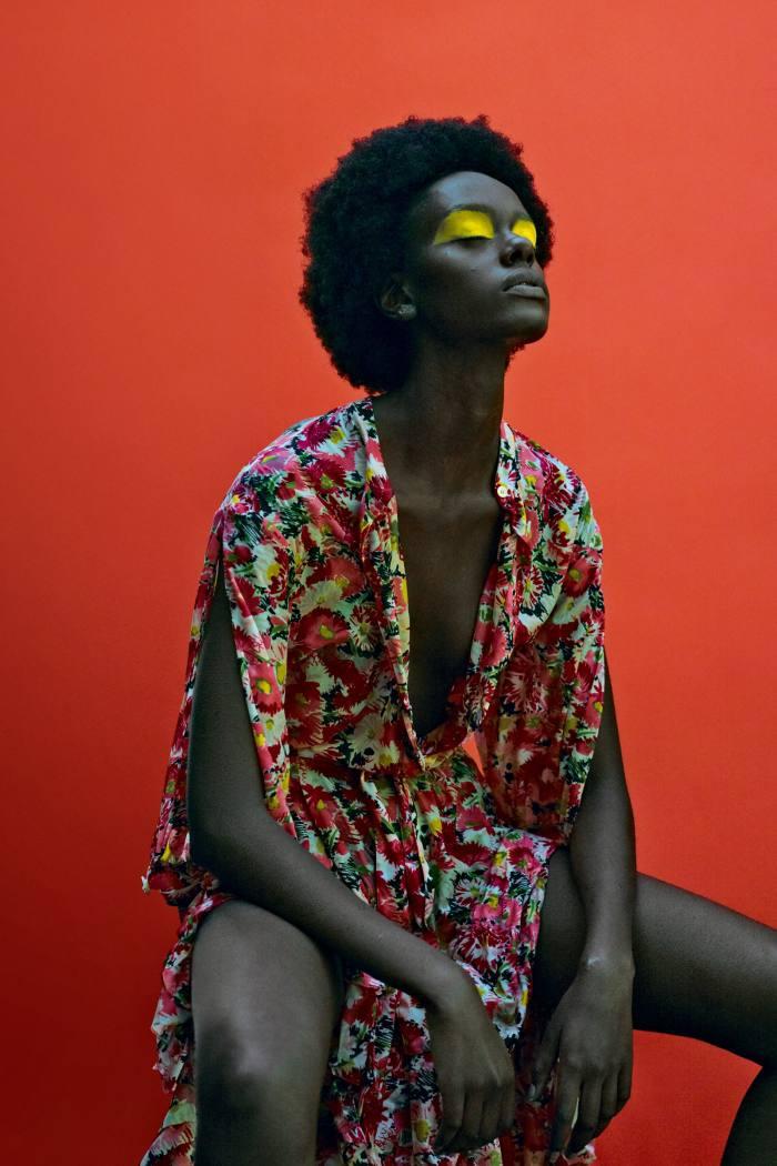 W for womanhood, silkOphelia dress, £1,295