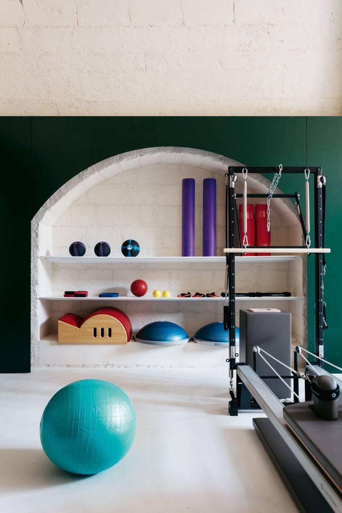 The Pilates suiteinthe gym