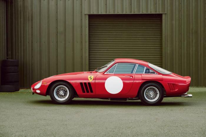 The Ferrari 330 LMB replica built by Bell Sport & Classic