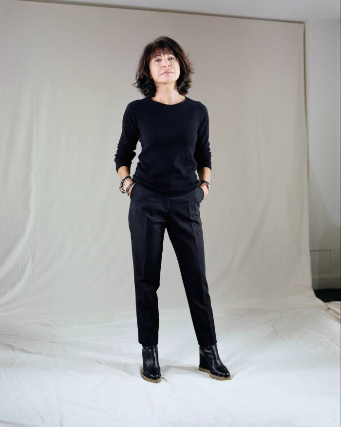 Véronique Nichanian, artistic director of Hermès menswear
