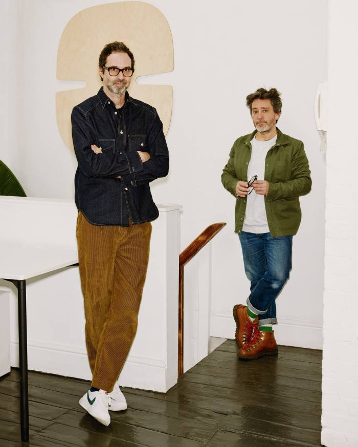 Barber and Osgerby describe their design ethos as 'wanting to give joy daily, whether it's a spoon or a sofa'