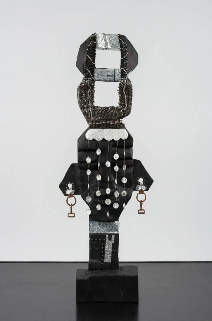 'Omugole Omukyala Namirembe Kaddulubale (Peaceful Bride of Mwanga II)' by Leilah Babirye (2020)