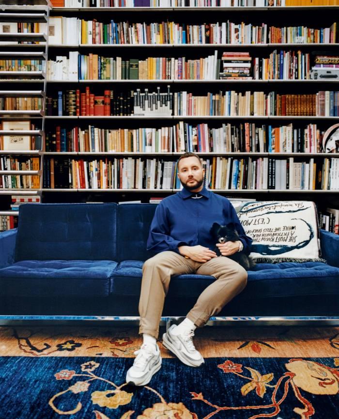 Jones at home in London