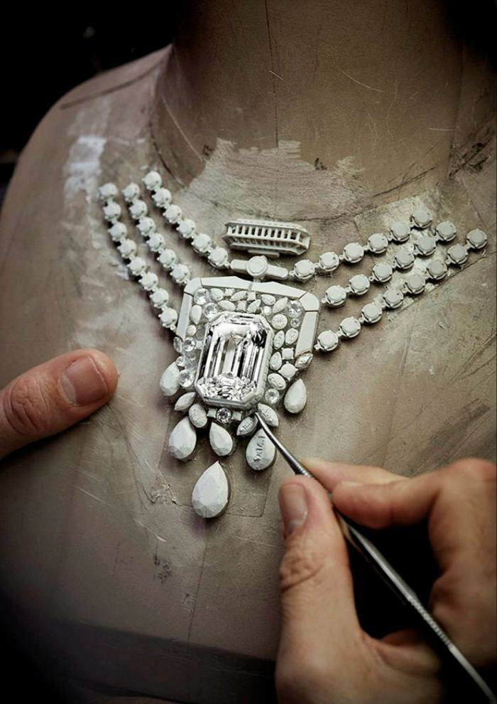 Chanel's 55.55ct diamond necklace