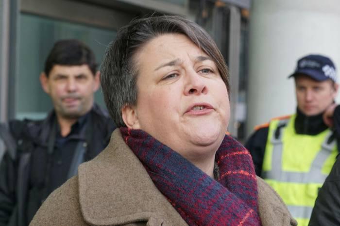 Bridget Chapman, of the Kent Refugee Action Network