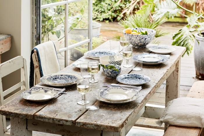 Mix and match: Burleigh's Collection One range features three patterns