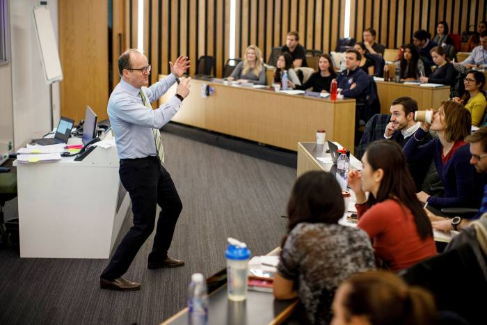 A lecture at London Business School