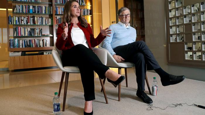 The Bill & Melinda Gates Foundation asked modellers to consider two different scenarios