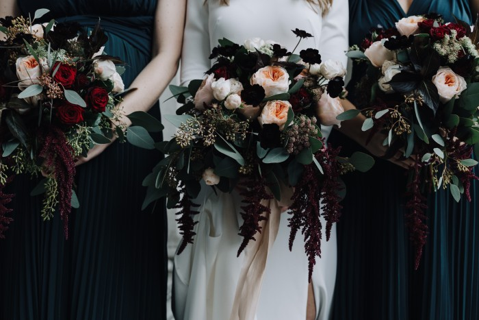 Wedding flowers by Wild at Heart