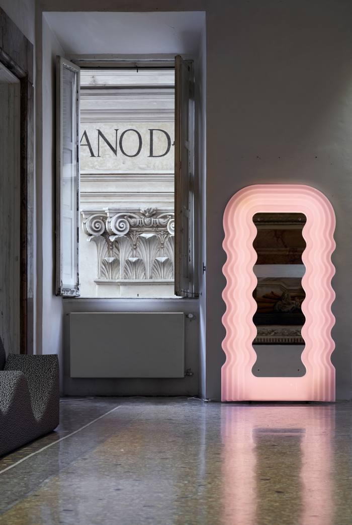Ettore Sottsass Jr for Centro Studi Poltronova Ultrafragola mirror,€7,870