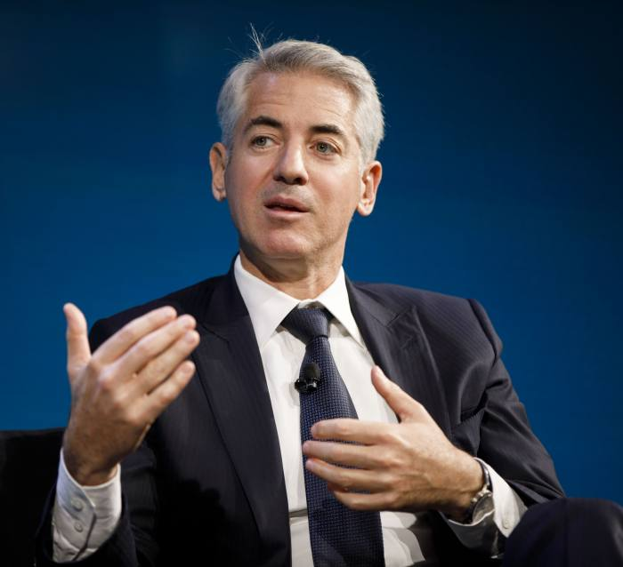 Bill Ackman, a hedge fund manager