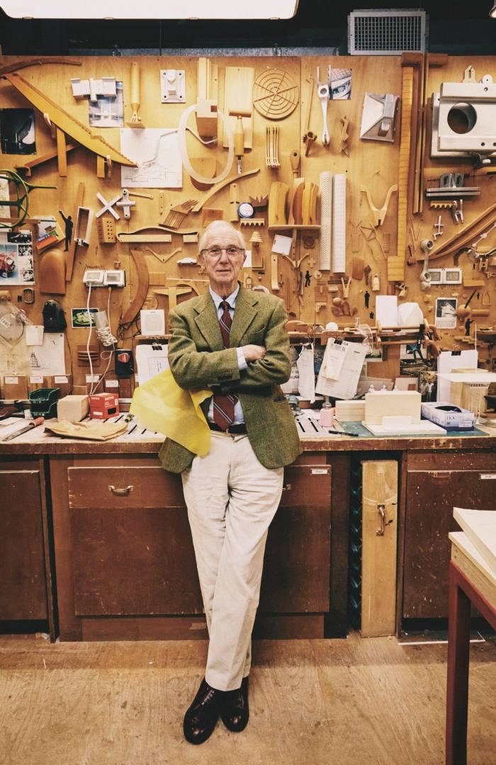 Architect Renzo Piano in his Genoa studio