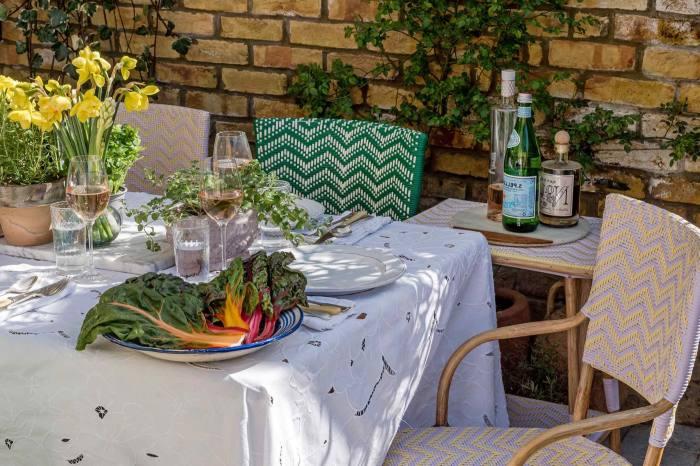 'Mediterranean escapism': Ceraudo's Bistro chairs