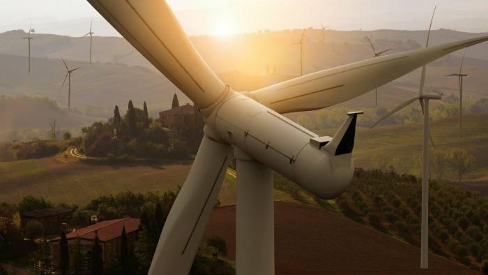 Wind turbine farm power generator