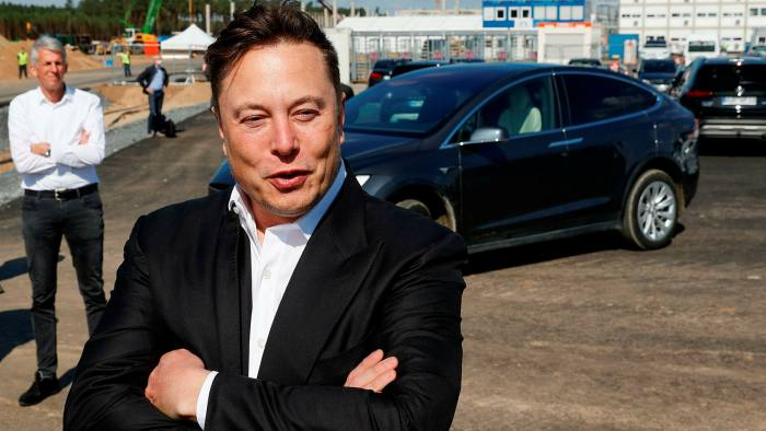 Elon Musk, chief executive of Tesla, will see his company join the S&P 500 next week