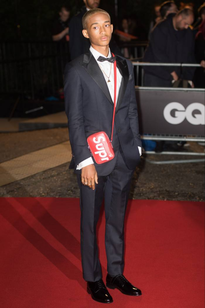 Jaden Smith attends the GQ Men of the Year Awards in London, 2017
