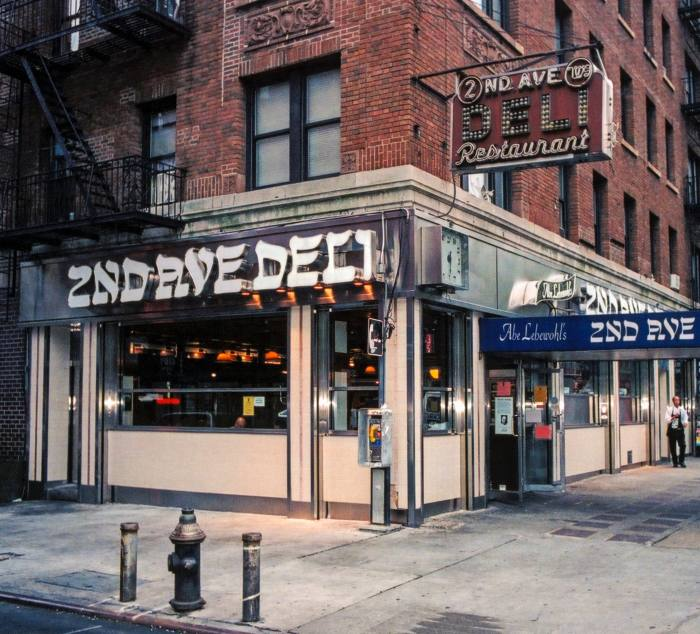 House-made pastrami and corned beef at the 2nd Avenue Deli