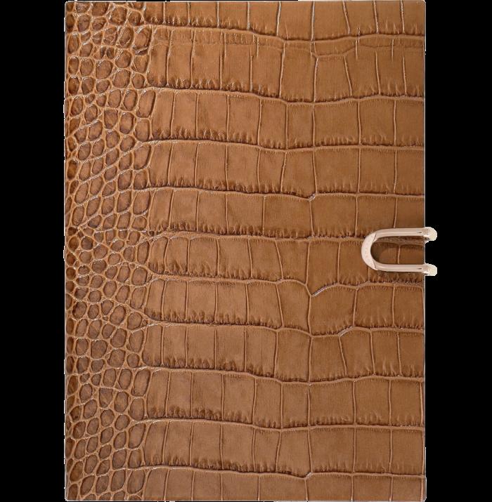 Smythson 2021 Mara Soho diary with pocket, £235, smythson.com