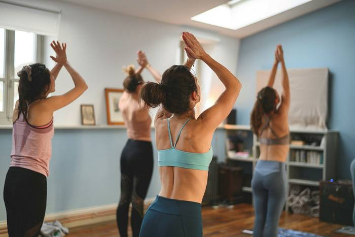 Pilates & Detox (which includes kundalini yoga) is one of many wellness retreats offered by Les Tilleuls