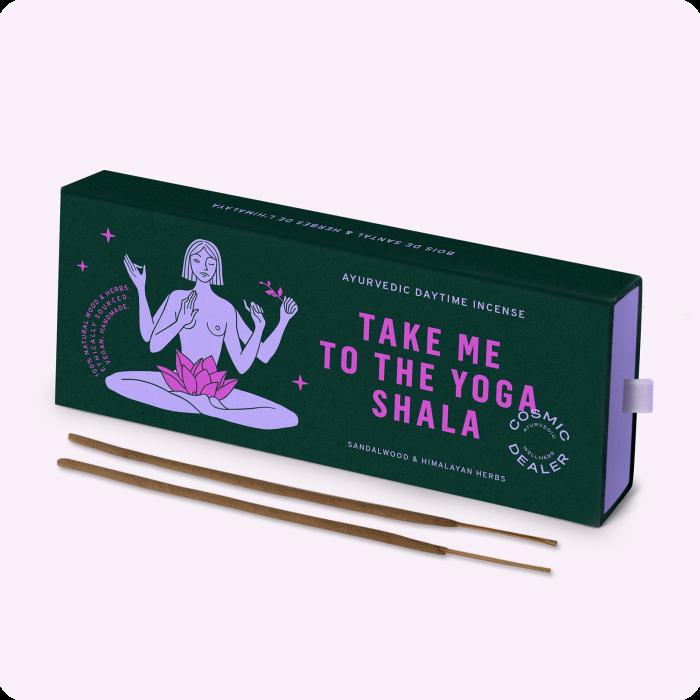 Cosmic Dealer incense sticks, €16