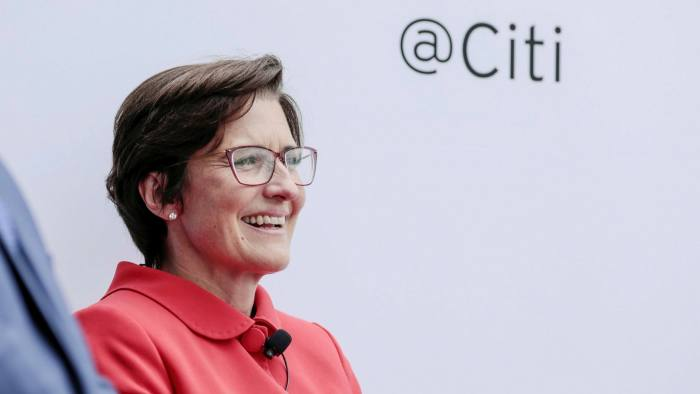Jane Fraser of Citigroup is the first — and so far only — female CEO of a big Wall Street bank