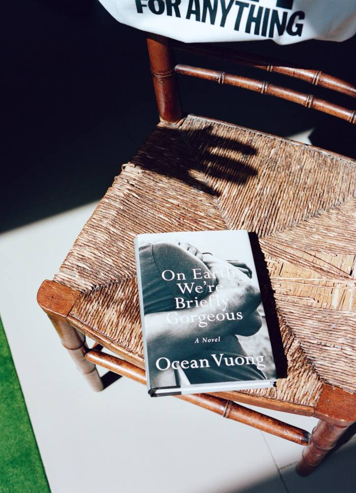 Bella Freud's copy of Ocean Vuong's On Earth We're Briefly Gorgeous