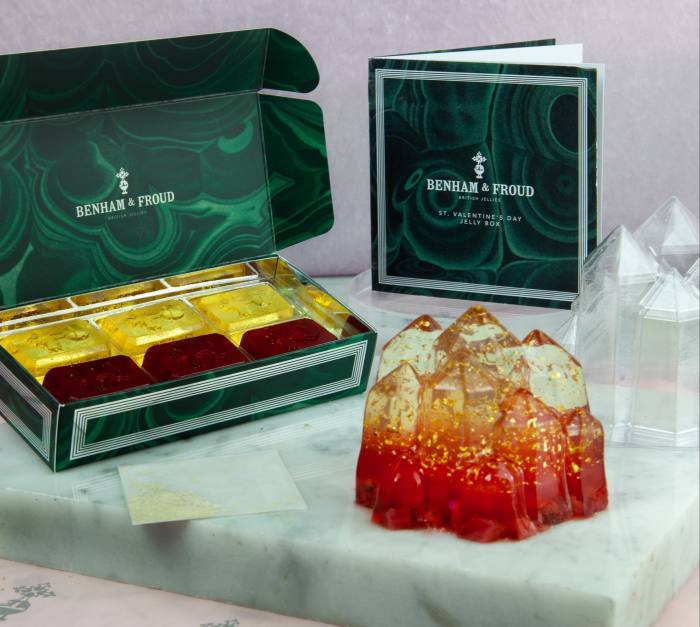 Benham & Froud's sell-out Valentine's Jelly Box