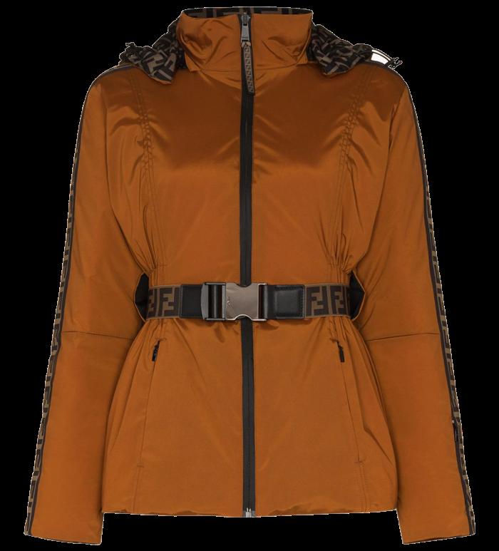 Fendi FF Logo reversible belted jacket, £1,850, brownsfashion.com