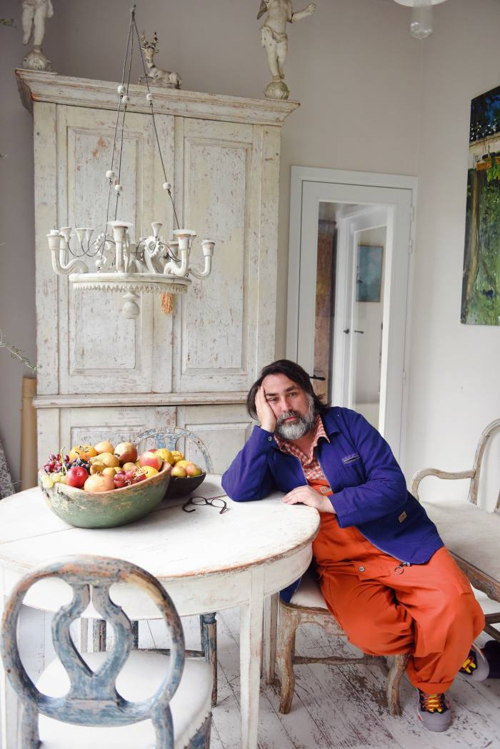 Thierry Boutemy at home in Boitsfort,Belgium