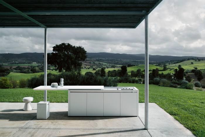 Boffi K2 outdoor kitchen island, about €30,000