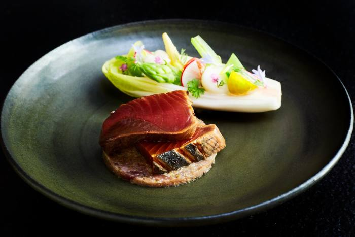 Sushi from Hoshinoya Tokyo