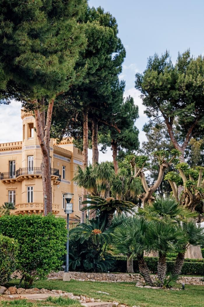 Exterior of the Villa Igiea
