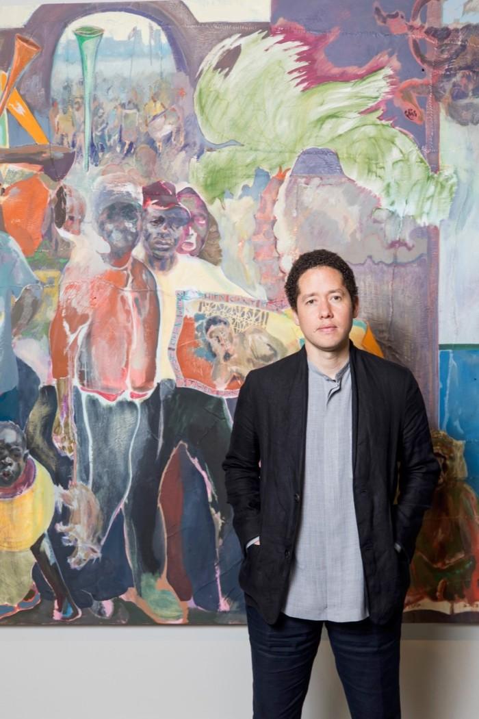 Kenyan-born, London-based artist Michael Armitage