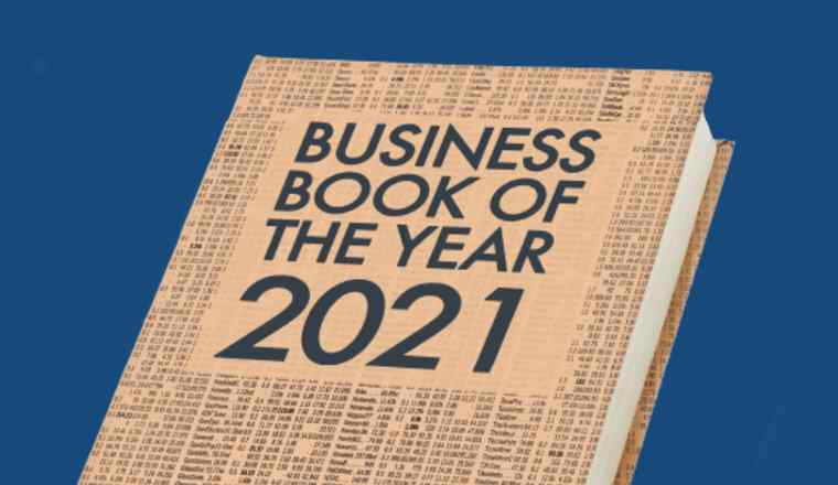 Promotional image for the event 'Business Book of the Year Award 2021 ' presented by FT Live
